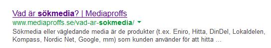 Google är en Sökmotor