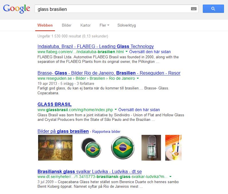Google är INTE Sökmedia eller Vägledande media