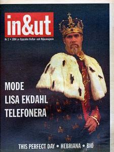 Omslag för nöjesmagasinet In & Ut nr 2 år 1994