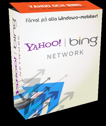 Yahoo/Bing är ett komplement till Google Adwords hos Biscuit AB.